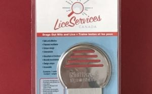 head lice removal comb by Lice Services Canad