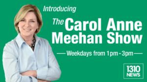 The Carol Anne Meehan show banner