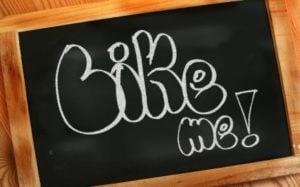 chalk board with words Like Me written on it